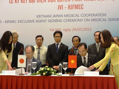 Premier accord de coopération sanitaire Vietnam-Japon - ảnh 1