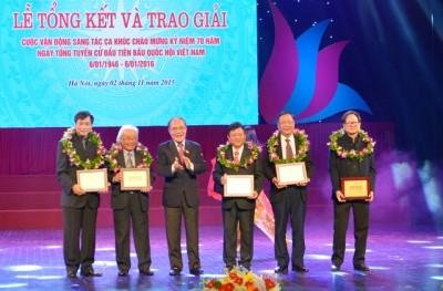 Remise des prix du concours de composition sur l'Assemblée nationale  - ảnh 1