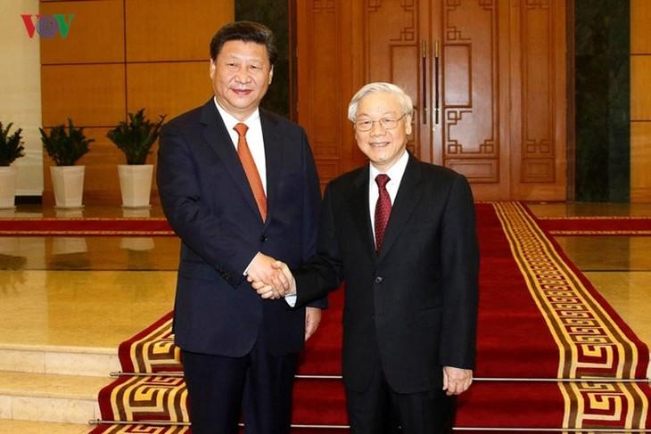 Réception en l'honneur de Xi-Jinping - ảnh 1