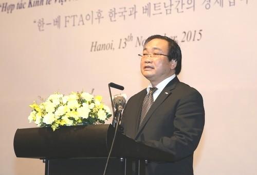 Forum économique Vietnam-République de Corée 2015 - ảnh 1