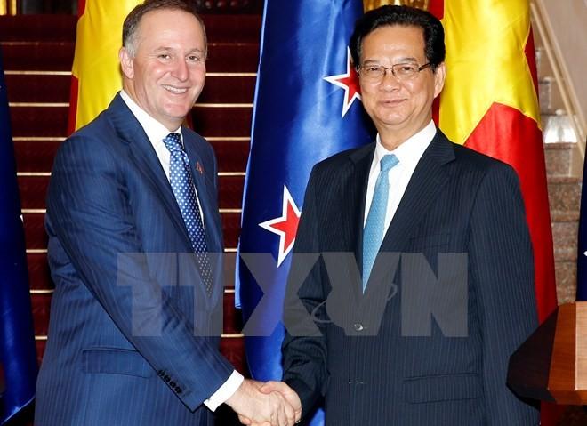 Fin de la visite du Premier ministre néo-zélandais au Vietnam - ảnh 1