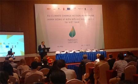 L'Union européenne face au changement climatique au Vietnam - ảnh 1