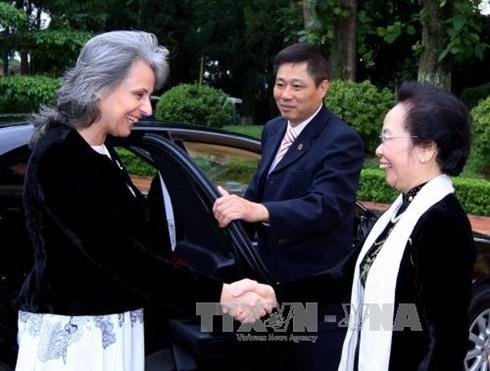La vice-présidente bulgare au Vietnam - ảnh 1