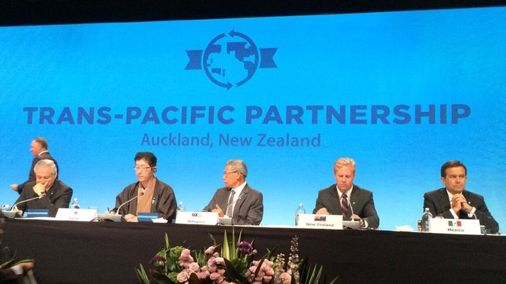 Signature de l'accord de partenariat transpacifique - ảnh 1