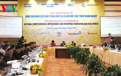 Améliorer la concurrence nationale, rénover et développer les entreprises - ảnh 1