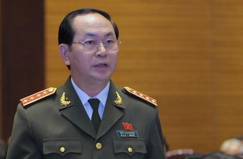 Le ministre de la Sécurité publique, candidat au poste de président de la République - ảnh 1