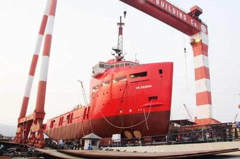 Mise à flot du pétrolier le plus moderne du Vietnam  - ảnh 1