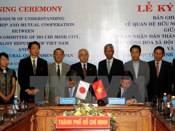 Ho Chi Minh-ville et la préfecture japonaise d'Aichi renforcent leurs relations  - ảnh 1