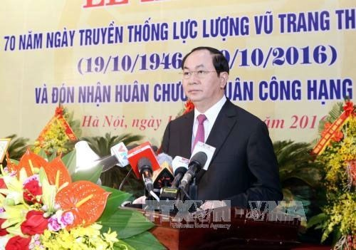 Moderniser les forces armées de Hanoi     - ảnh 1