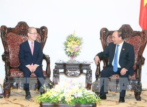Le PM Nguyên Xuân Phuc reçoit le responsable du GIEC - ảnh 1