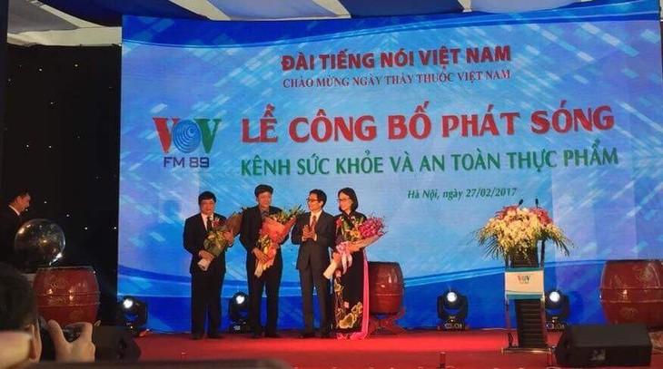 VOV: Inauguration de la station sur la santé et la sûreté alimentaire - ảnh 1