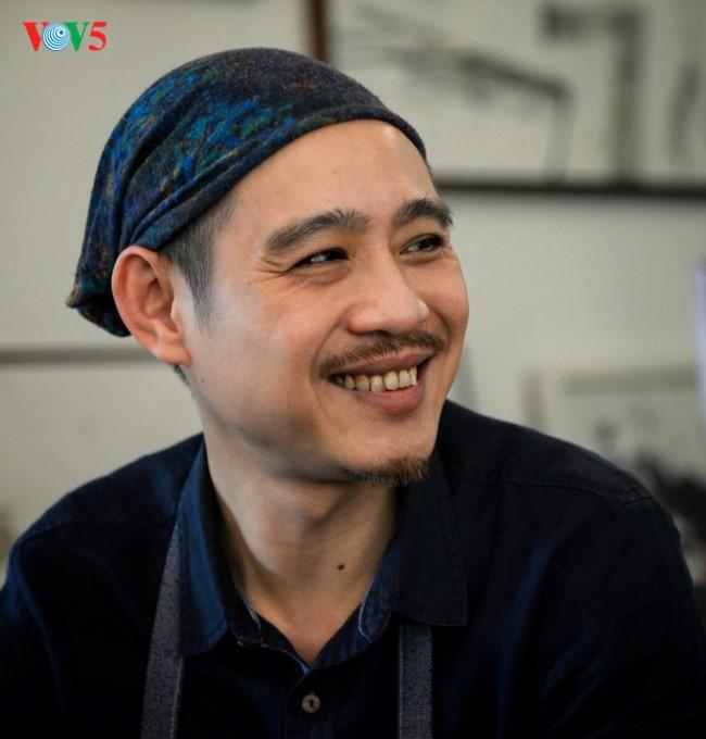 Rencontre avec Pham Ha Hai, le créateur de la collection de timbres de l'année du Chien - ảnh 3