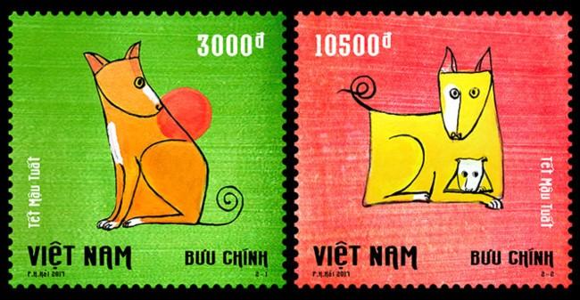 Rencontre avec Pham Ha Hai, le créateur de la collection de timbres de l'année du Chien - ảnh 2