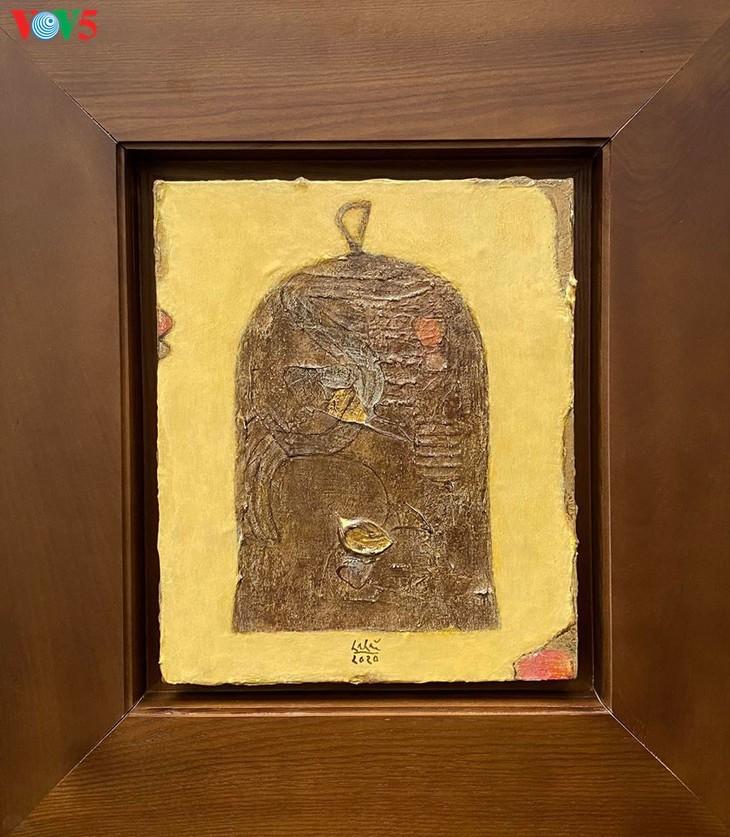 Exposition de peintures créées durant la distanciation sociale - ảnh 16