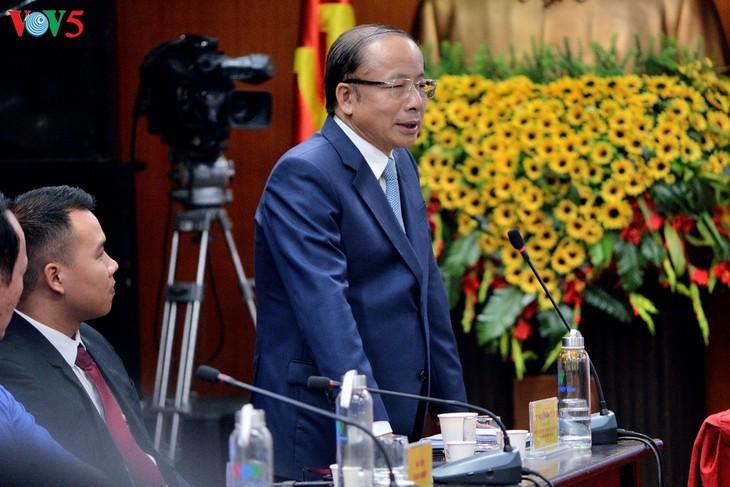 Forum en ligne: «Accord de libre-échange Vietnam-Union européenne: Un chemin profitable – un chemin difficile» - ảnh 5