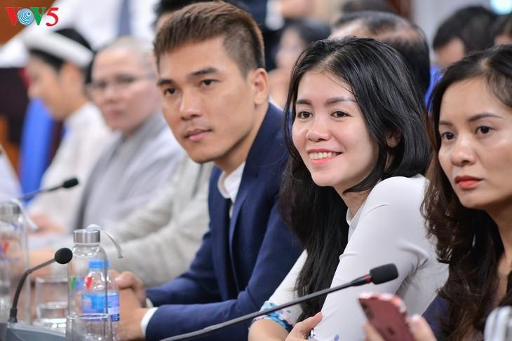 Forum en ligne: «Accord de libre-échange Vietnam-Union européenne: Un chemin profitable – un chemin difficile» - ảnh 9