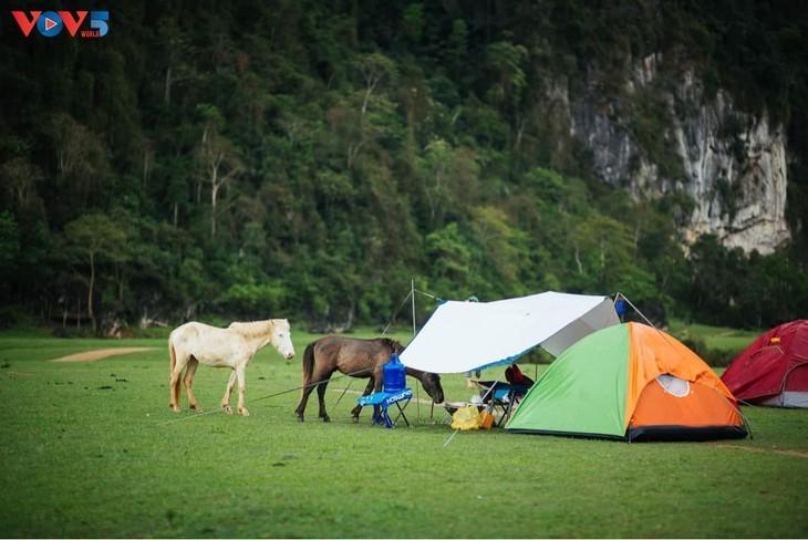 Dông Lâm – une destination idéale pour faire du camping - ảnh 11