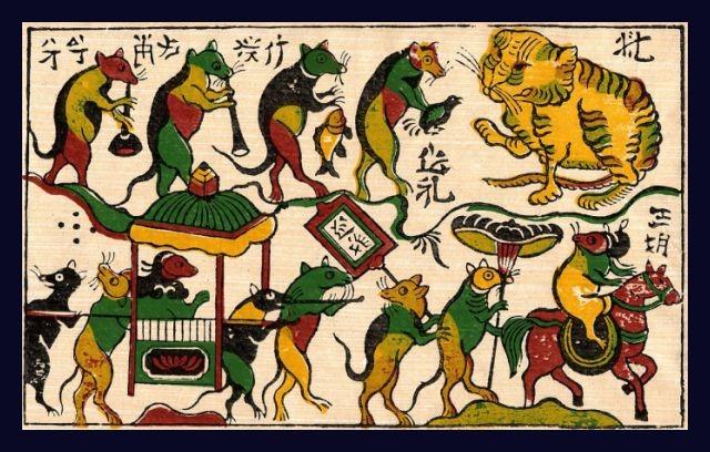 Les estampes populaires vietnamiennes - ảnh 1