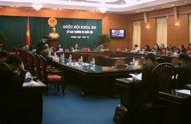 Komite Tetap Majelis Nasional membahas beberapa Rancangan Undang-Undang  - ảnh 1