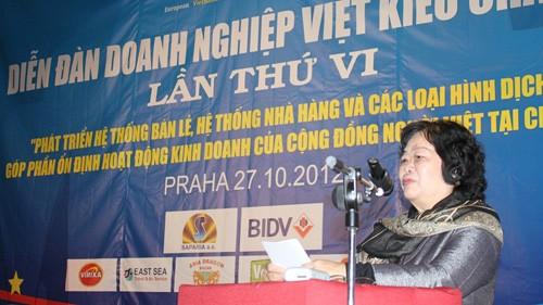 Forum ke-6 badan usaha Vietnam di Eropa. - ảnh 1