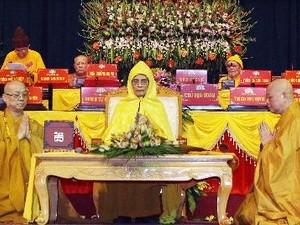 Penutupan Kongres Nasional ke-7 Sangha Buddha Vietnam - ảnh 1