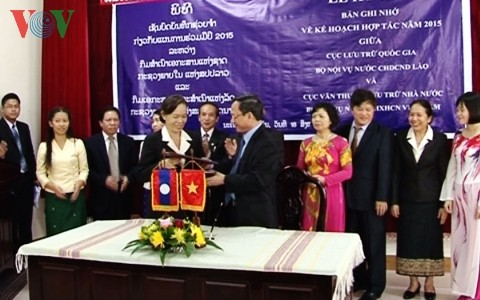 Vietnam dan Laos memperkuat kerjasama kearsifan nasional - ảnh 1