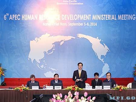APEC sepakat memperkuat kualitas sumber daya manusia - ảnh 1