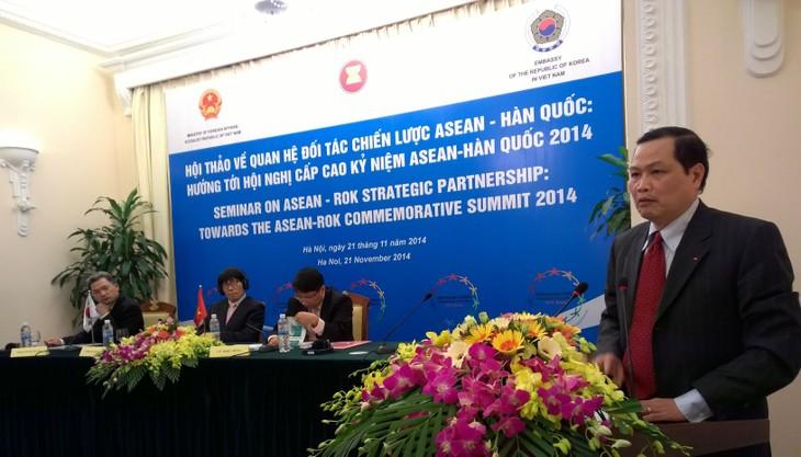 Lokakarya tentang hubungan kemitraan strategis ASEAN-Republik Korea - ảnh 1