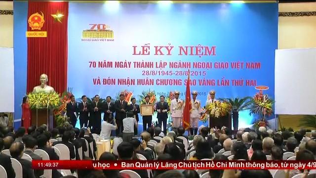 Rapat umum memperingati ulang tahun ke-70 Berdirinya instansi diplomatik Vietnam - ảnh 1