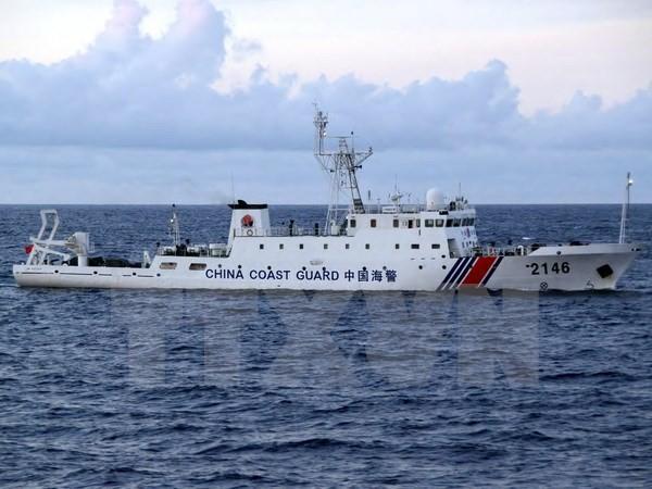 Kapal Tiongkok terus masuk kawasan laut yang dipersengketakan dengan Jepang - ảnh 1