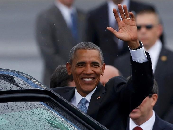 Presiden AS mulai melakukan kunjungan resmi di Kuba - ảnh 1