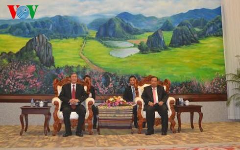 Mendorong hubungan kerjasama komprehensif Vietnam-Laos - ảnh 1