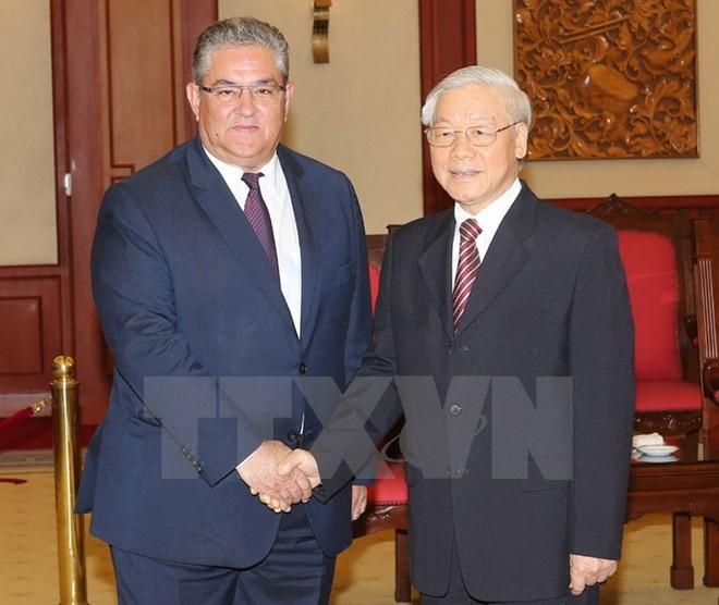 Partai Komunis Yunani mendukung pendirian Vietnam tentang masalah Laut Timur - ảnh 1