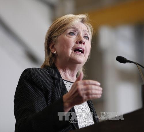 Ibu Hillary Clinton mencela keras Donald Trump  bersangkutan dengan pidato tentang IS - ảnh 1