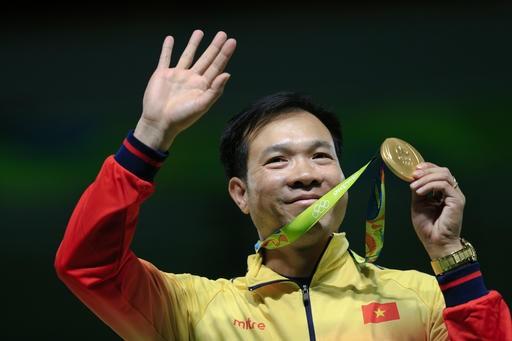 Penembak Hoang Xuan Vinh-Kebanggaan olahraga Vietnam - ảnh 1