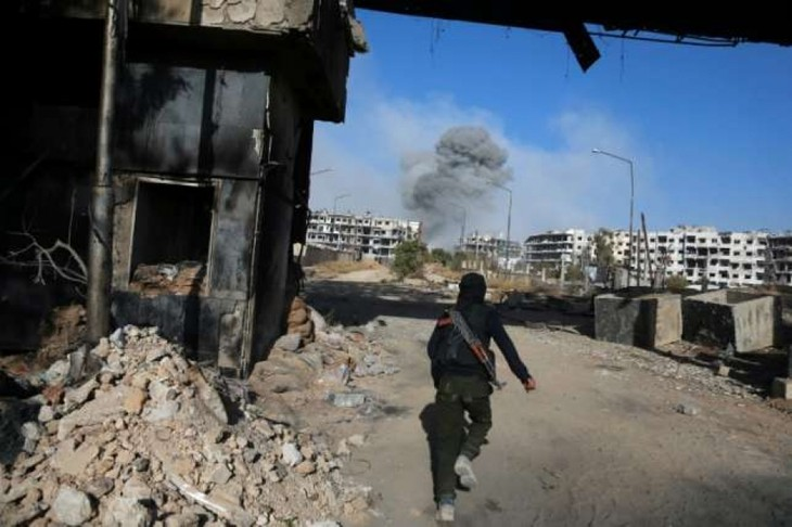 Kelompok-kelompok pembangkang di Idlib, Suriah membentuk persekutuan baru - ảnh 1