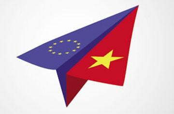Viet Nam dan Uni Eropa menegaskan kembali komitmen terhadap berbagai perjanjian perdagangan dan investasi - ảnh 1