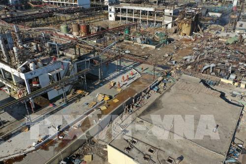 Jumlah korban dalam kasus ledakan di pabrik produksi pupuk di Tiongkok meningkat drastis - ảnh 1
