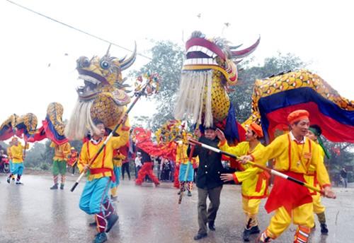 Pesta desa:Ruang budaya dari peradaban padi sawah - ảnh 1