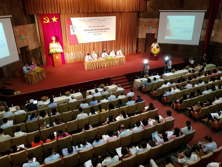 "Lokakarya dengan tema: ""Testamen Presiden Ho Chi Minh-Nilai teori dan praktek"" - ảnh 1"