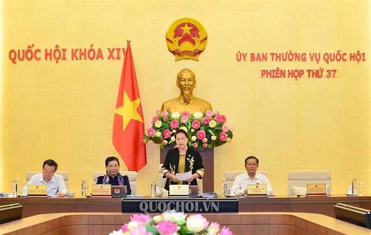 Pembukaan Persidangan ke-37 Komite Tetap MN Viet Nam - ảnh 1
