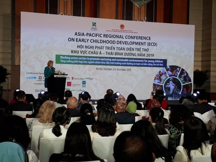 Konferensi tentang pengembangan anak-anak secara menyeluruh kawasan Asia-Pasifik tahun 2019 - ảnh 1