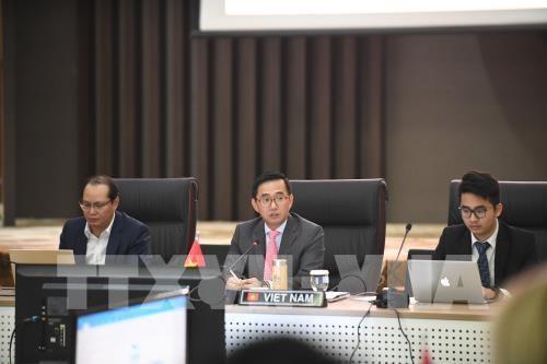 Sidang Komite Kerjasama Bersama ASEAN-AS - ảnh 1