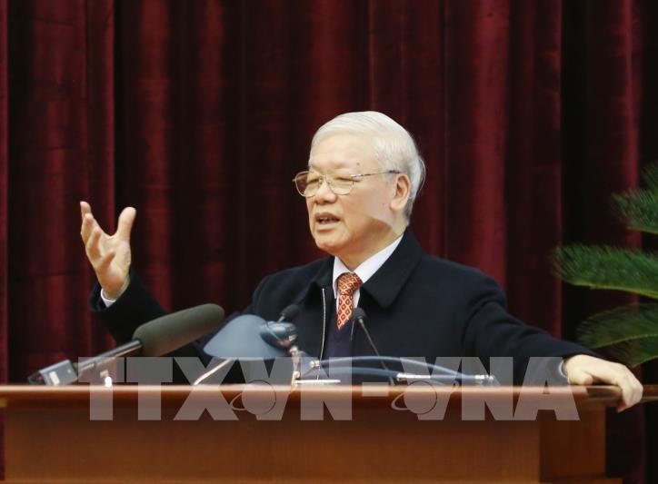 Sekjen, Presiden Nguyen Phu Trong: Bergotong-royong dan bersinergi untuk memenangkan pandemi Covid-19 - ảnh 1