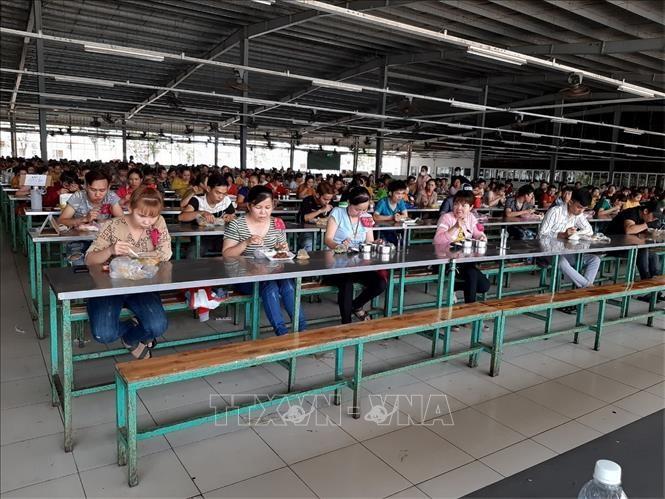 Tidak membiarkan wabah Covid-19 menular di kalangan buruh dan pekerja - ảnh 1