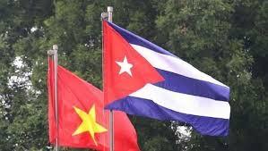 Menyampaikan surat Sekjen, Presiden Nguyen Phu Trong dan bingkisan kepada Kuba untuk melawan wabah Covid-19 - ảnh 1