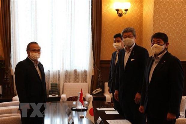 Anggota Majelis Rendah Jepang menilai tinggi hasil pencegahan dan pemberantasan wabah Covid-19 yang dicapai oleh Viet Nam - ảnh 1