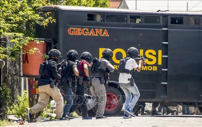 Serangan teror ada faktor IS di Indonesia - ảnh 1