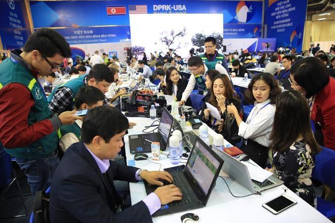 Kebebasan berbicara dan kebebasan pers dijamin di Vietnam - ảnh 1