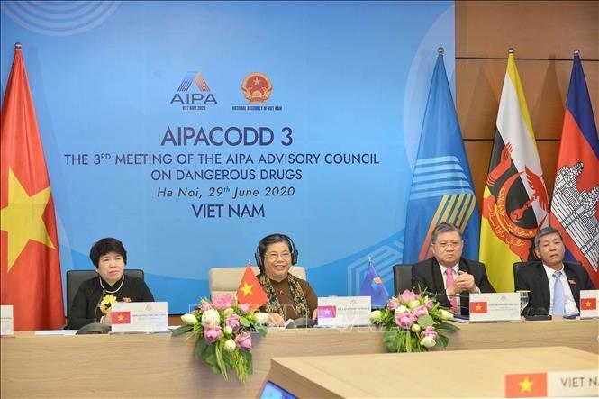Berkiblat ke visi membangun satu Komunitas ASEAN tanpa narkotika - ảnh 1